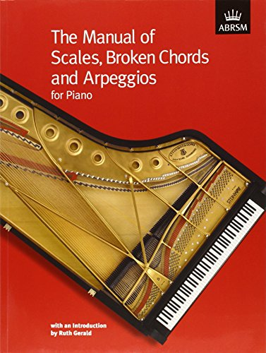 9781860961120: The Manual of Scales, Broken Chords and Arpeggios (ABRSM Scales & Arpeggios)