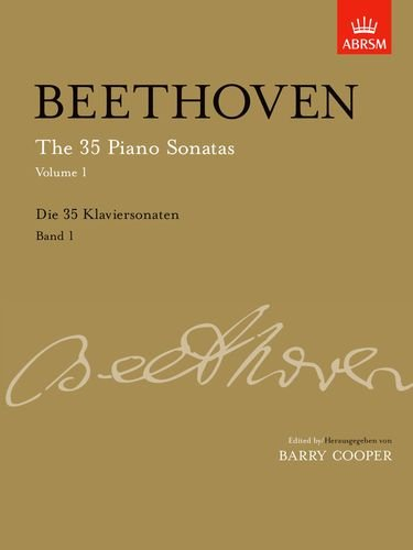 9781860962455: The 35 Piano Sonatas, Volume 1: up to Op. 14: Up to Op. 14 v. 1 (Signature Series (ABRSM))