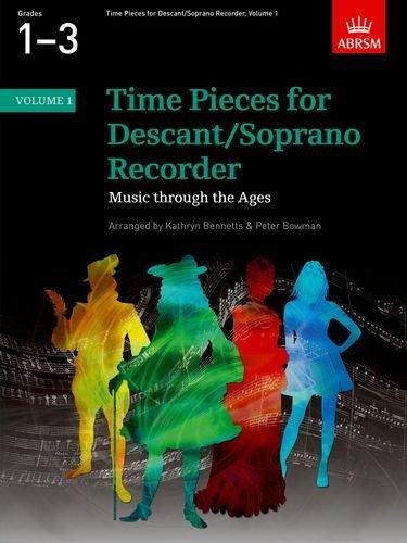 9781860962929: Time Pieces for Descant/Soprano Recorder, Volume 1: v. 1 (Time Pieces (ABRSM))