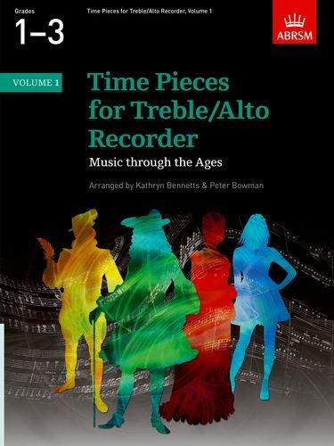 9781860962943: Time Pieces for Treble/Alto Recorder, Volume 1: v. 1 (Time Pieces (ABRSM))