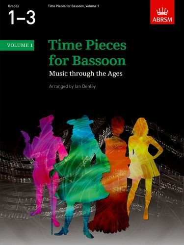 9781860962967: Time Pieces for Bassoon, Volume 1: Music through the Ages in Two Volumes (Time Pieces (ABRSM)) (v. 1)