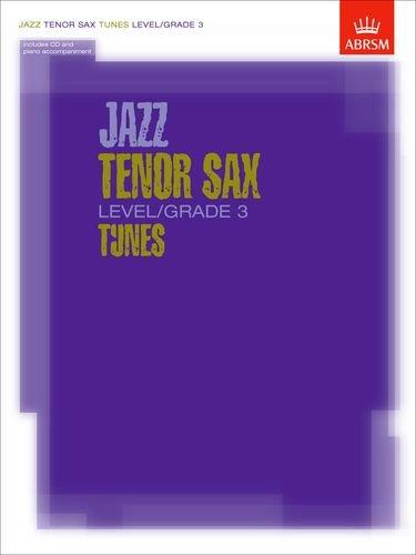 9781860963094: Jazz Tenor Saxophone Tunes Level/Grade 3 Book/CD (ABRSM Exam Pieces)