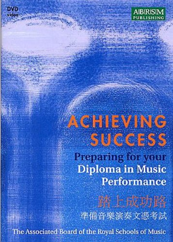 9781860963995: Achieving Success Preparing for your Performance Diploma DVD