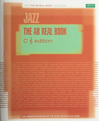 9781860964305: AB REAL BOOK C TREBLE CLEF JAZZ EDITION BOOK
