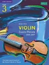 9781860964817: Selected Violin Examination Pieces 2005-2007: Grade 3