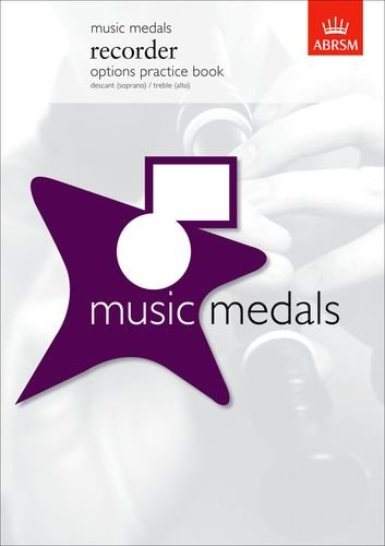 9781860965173: Music Medals Recorder Options Practice Book (ABRSM Music Medals)