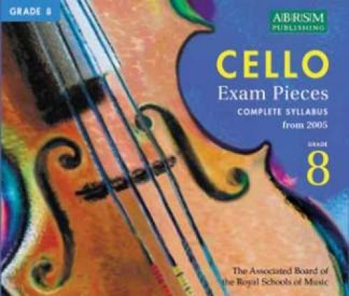 9781860965487: Cello Exam Pieces from 2005 Grade 8