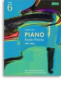 9781860966231: Selected Piano Exam Pieces Grade 6 2007-2008