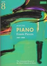 9781860966255: Selected Piano Exam Pieces Grade 8 2007-2008