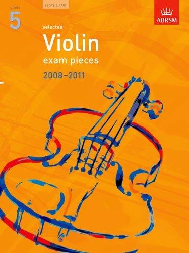 9781860967610: Selected Violin Exam Pieces 2008-2011, Grade 5, Score & Part (ABRSM Exam Pieces)