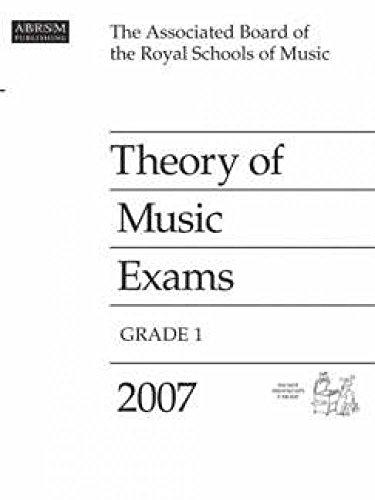 Theory of Music Exams: Grade 1