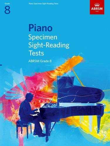 9781860969126: Piano Specimen Sight-Reading Tests, Grade 8 (ABRSM Sight-reading)