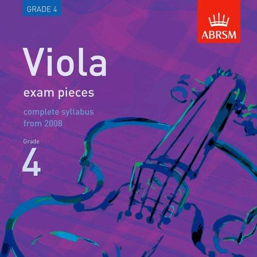 9781860969379: Viola Exam Pieces 2008 CD, ABRSM Grade 4: The Complete Syllabus Starting 2008 (ABRSM Exam Pieces)