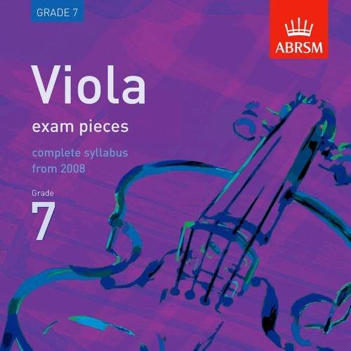 9781860969409: Viola Exam Pieces 2008 CD, ABRSM Grade 7 2008: The Complete Syllabus Starting 2008 (ABRSM Exam Pieces)