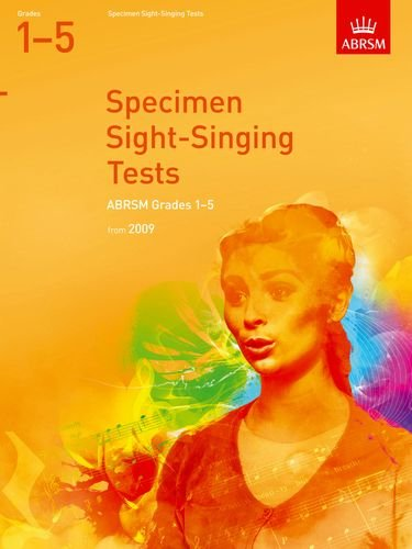 9781860969584: Specimen Sight-Singing Tests, Grades 1-5