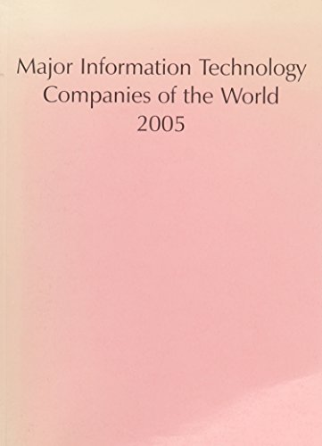 9781860994272: Major Information Technology Companies of the World