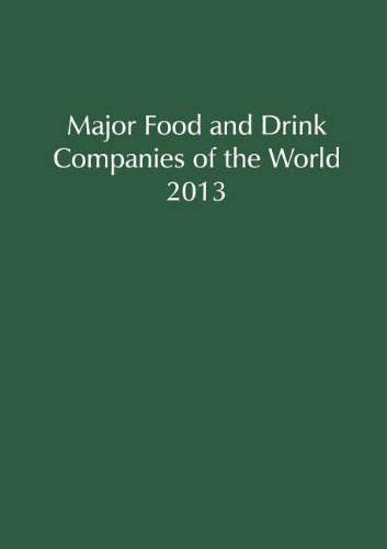 9781860997976: Major Food and Drink Companies of the World 2013 (Major Food & Drink Companies of The World)