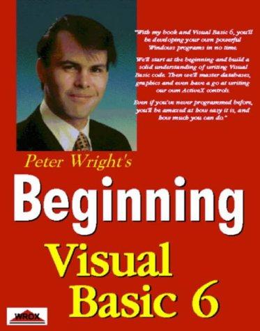 9781861001054: Beginning Visual Basic 6