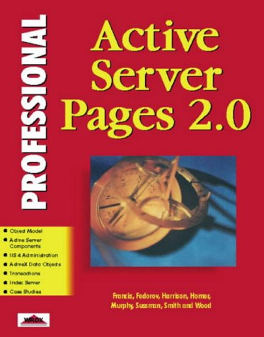 Professional Active Server Pages 2.0: Francis, Brian, Harrison,