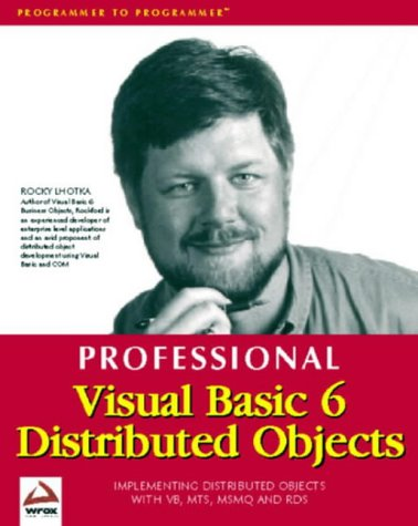9781861002075: Professional Visual Basic 6 Distributed Objects
