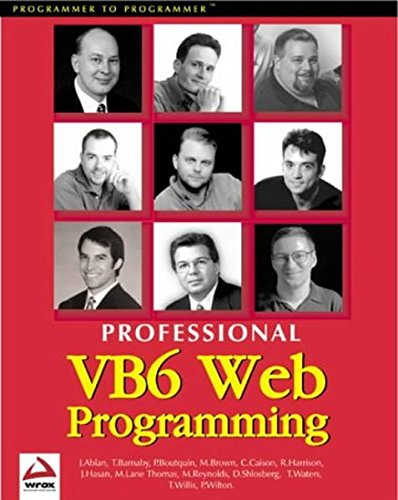 Professional Visual Basic 6 Web Programming: Paul Wilton, Thearon