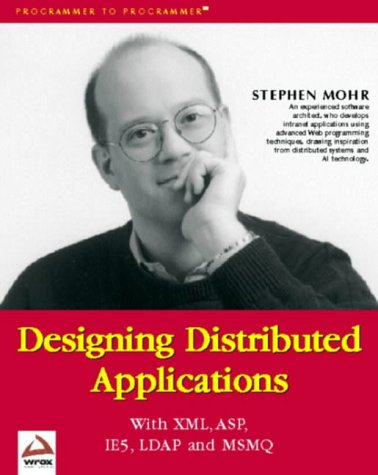 9781861002273: DESIGNING DISTRIBUTED APPLICAT (Wrox Us)
