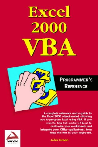 9781861002549: Excel 2000 VBA Programmers Reference