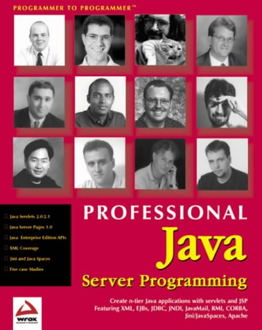 Professional Java Server Programming: with Servlets, JavaServer: Ayers, Danny, Bergsten,