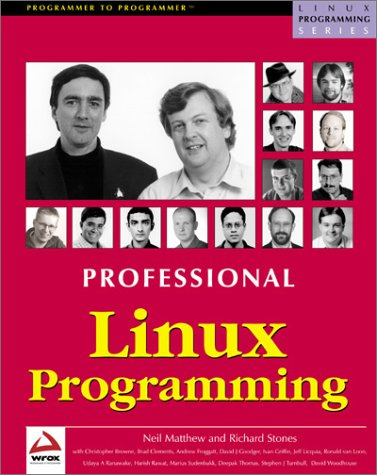 9781861003010: Professional Linux Programming