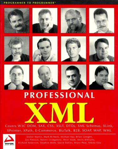 9781861003119: Professional XML