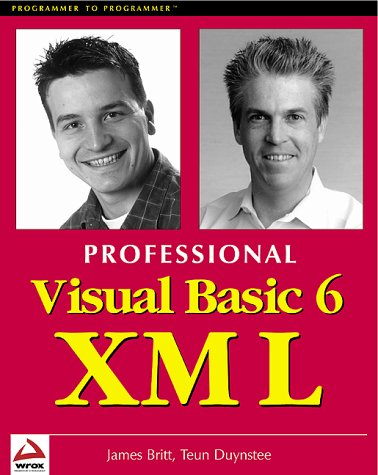 9781861003324: Professional Visual Basic 6 XML