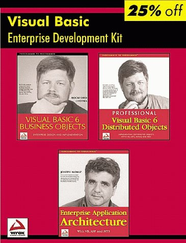 Wrox Visual Basic Enterprise Developer's Resource Kit (Programmer to Programmer) (1861003455) by Lhotka, Rockford; Moniz, Joseph