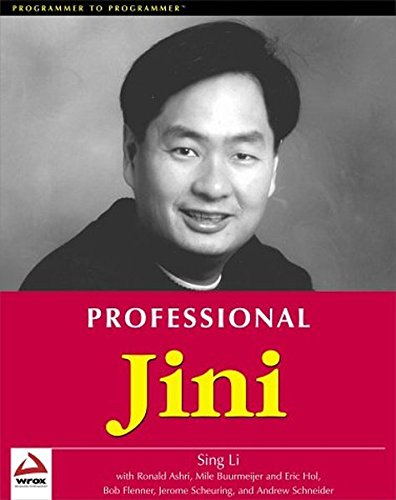 9781861003553: Professional Jini (Programmer to Programmer)
