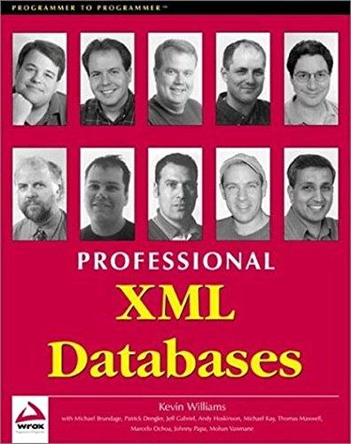 9781861003584: Professional XML Databases
