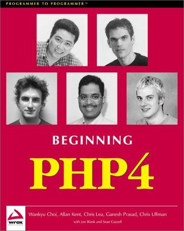 9781861003737: Beginning Php 4 (Programmer to Programmer)