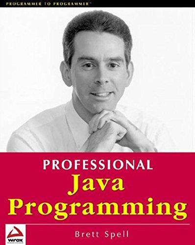 9781861003829: Professional Java Programming
