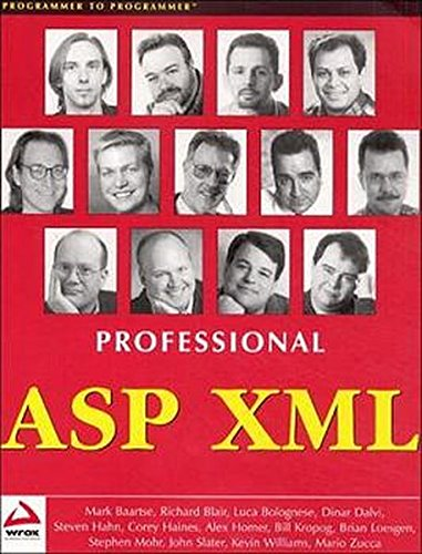 Professional ASP XML: Williams, Kevin,Bolognese, Luca,Haines,