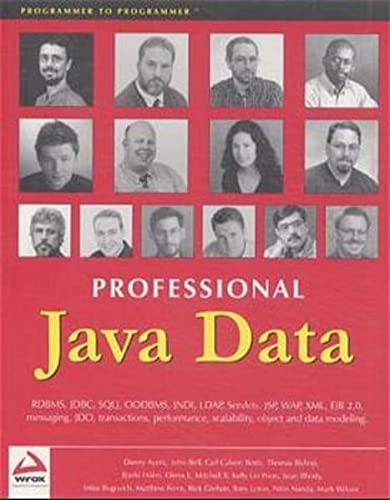 Professional Java Data: etc. & Bishop,