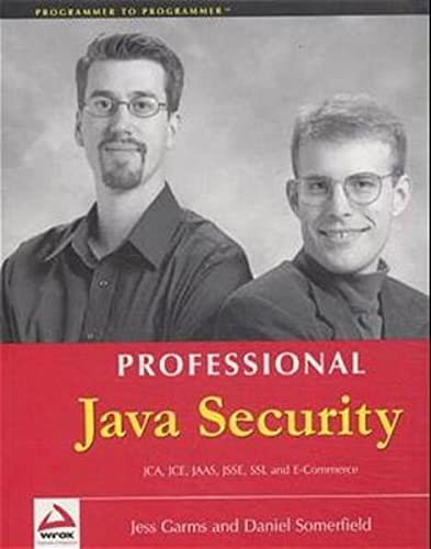 9781861004253: Professional Java Security (Programmer to Programmer)
