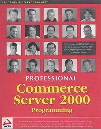 Professional Commerce Server 2000 (Programmer to Programmer): Smith, Joey, Whitney,