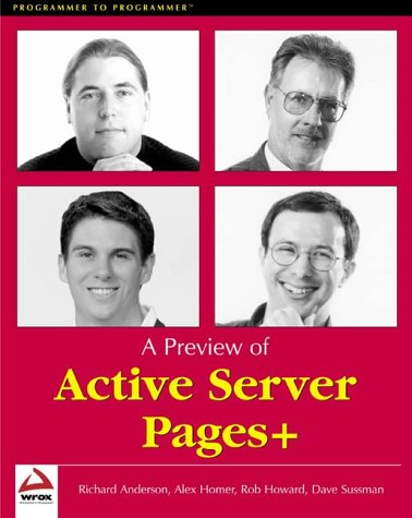 9781861004758: A Preview of Active Server Pages+