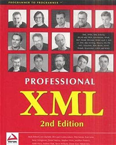 9781861005052: Professional XML (Programmer to programmer)