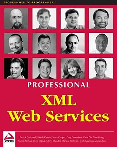 9781861005090: Professional XML Web Services