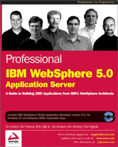 9781861005816: Professional IBM WebSphere 5.0 Application Server