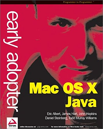 9781861006110: Early Adopter Mac OS X Java