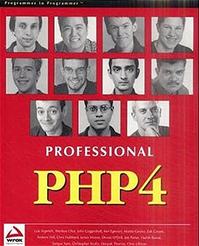 9781861006912: Professional PHP4 Programming