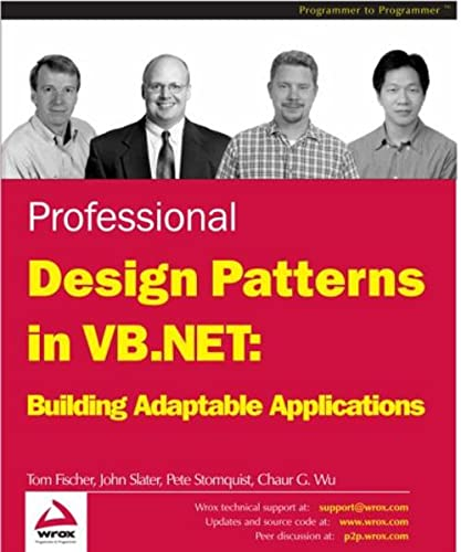 9781861006981: Professional Design Patterns in VB.NET: Building Adaptable Applications