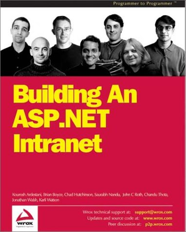 9781861007490: Building an ASP.NET Intranet