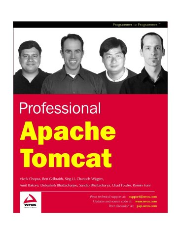 9781861007735: Professional Apache Tomcat (Programmer to programmer)
