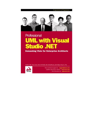 9781861007957: Professional UML with Visual Studio .NET. Un masking Visio for Enterprise Architects (Programmer to programmer)